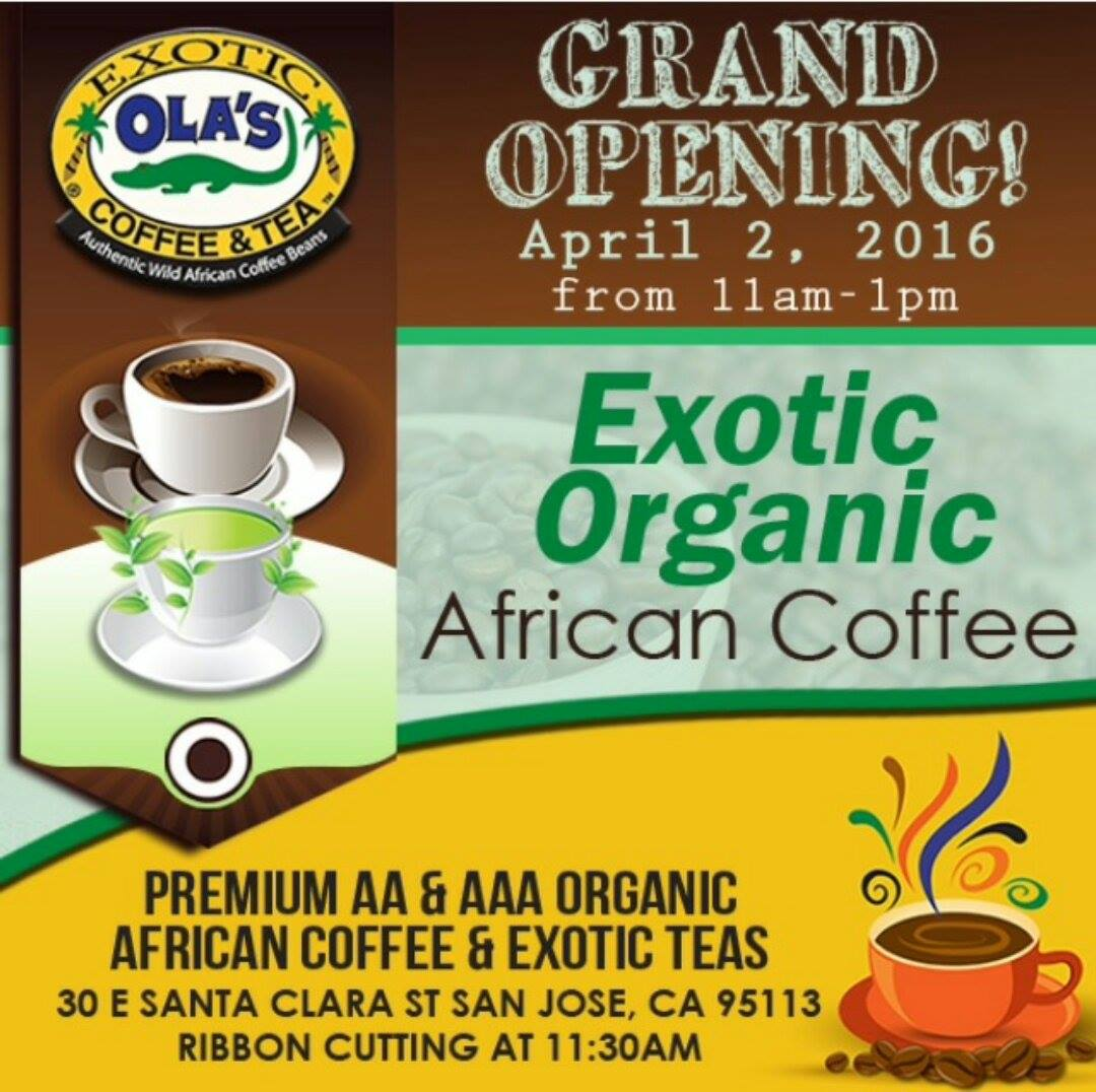 Organic Coffee and Tea in San Jose EYP Eritrean Yellow Pages