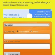 Responsive mobile friendly site - eritreanyellowpages.com