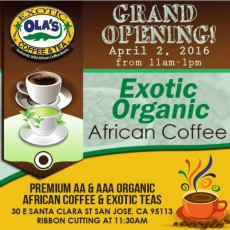 organic coffee and tea
