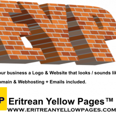 eritreanyellowpages get a logo and website with free domain